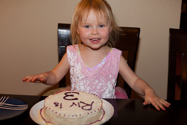Riv's 3rd Birthday