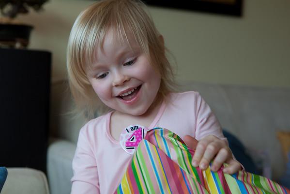 Riv's 4th Birthday