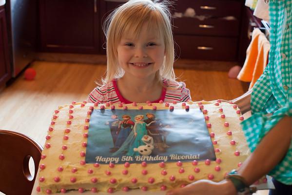 Riv's 5th Birthday
