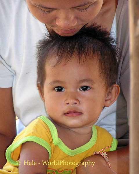 Lao Loum Child - Tahsang Village, Isaan Region Thailand
