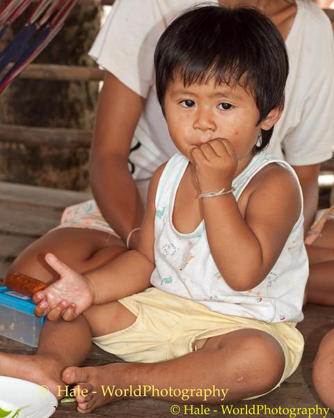 Kwan Having A Snack