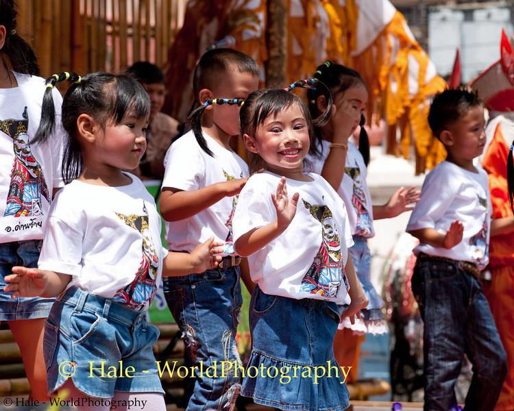 Young School Dancers Having Fun