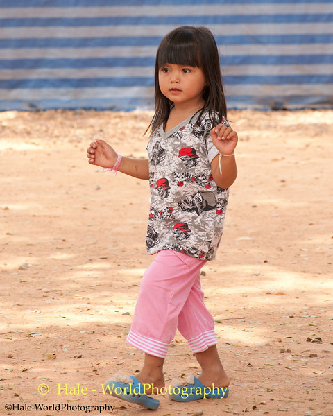 Young Girl Dancing In Kok Sa-nga King Cobra Village