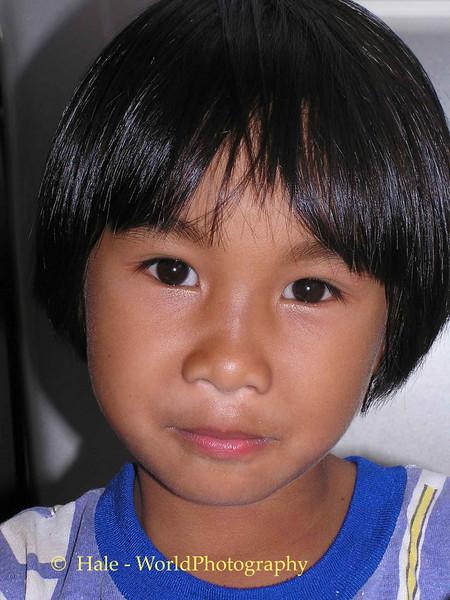 Tahsang Village Young Girl, Isaan Thailand