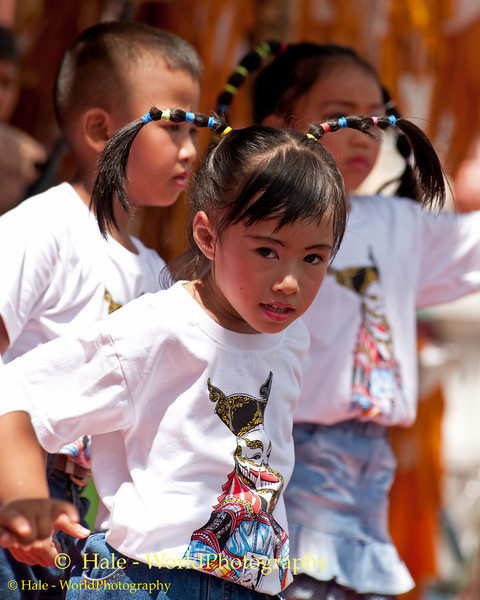 Young Lao Loum Girl Dancing