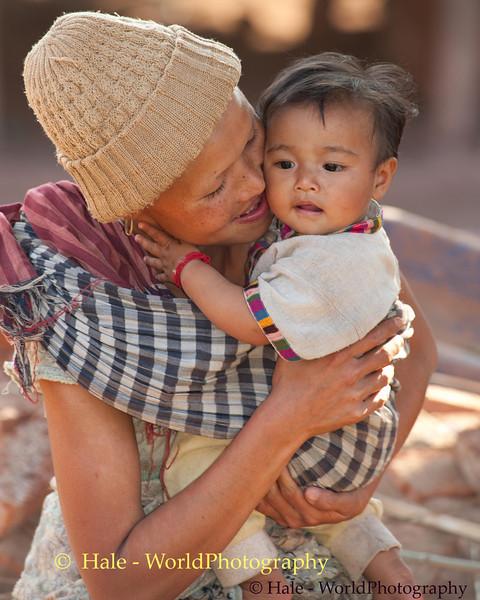 Baby Waking Up From Nap, Ban Houana, Laos