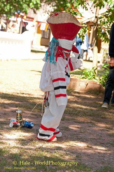 A Little Ghost, Phi Ta Khon Festival, Dansai, Thailand