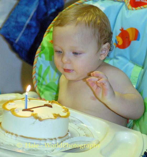 Tupotu's First Birthday Cake, Rohnert Park California USA