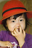 Girl in Red Hat, KMT Village near Maehongson Thailand