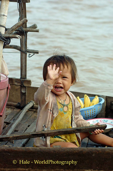 Thank You for Buying My Drinks - Tonle Sap Lake, Cambodia