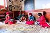 Monks Studying English