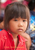Young Girl at Mahlam Lao Show in Ban That, Isaan