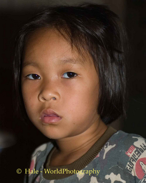 Paduang Village Headman's Daughter, Maehongson Thailand