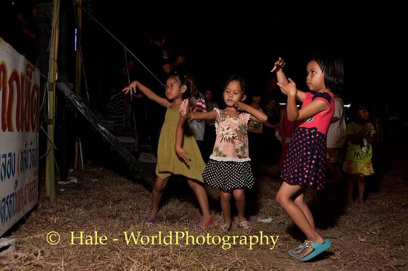 Young Girls Dancing the Night Away
