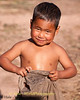 Young Boy Fresh From His Bath In The Local River, Luang Namtha Province, Laos
