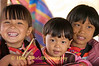 Lisu Children In Booth