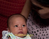 One Month Old baby Girl In Isaan