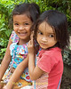 Cambodian Best Friends - Phnom Kulen, Cambodia