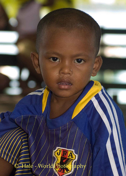 Moken Boy (Sea Gypsy) Phuket, Thailand