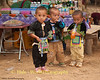 Young Hmong Boys in Traditional Clothing at New Year's Festival in Luang Prabang, Lao People's Democratic Republic