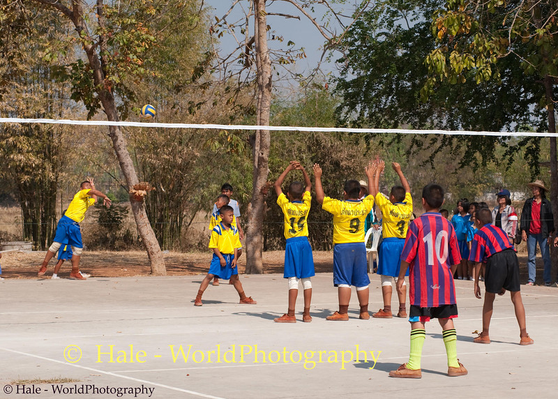 Volleyball Competition in Tahsang Village