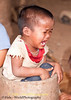 An Upset Khmu Child In Ban Pakha, Laos