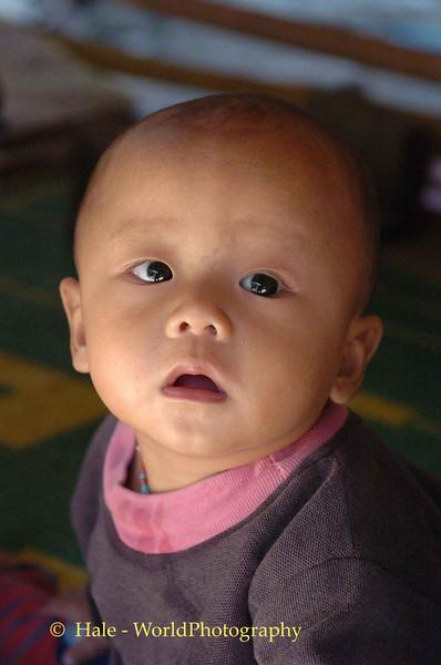 Ban Mai Na Soi 4 Refugee Camp Baby Boy, Maehongson Thailand