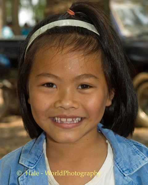 Lao Loum Young Girl - Tahsang Village, Isaan Region Thailand