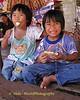 Village Friends Enjoying Lunch - Tahsang Village Thailand