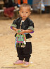 Young Hmong Boy in Traditional Clothing at New Year's Festival in Luang Prabang, Lao People's Democratic Republic