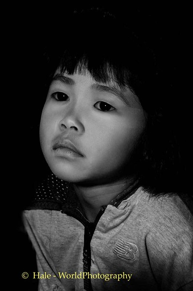 Thasang Village Elementary School Student