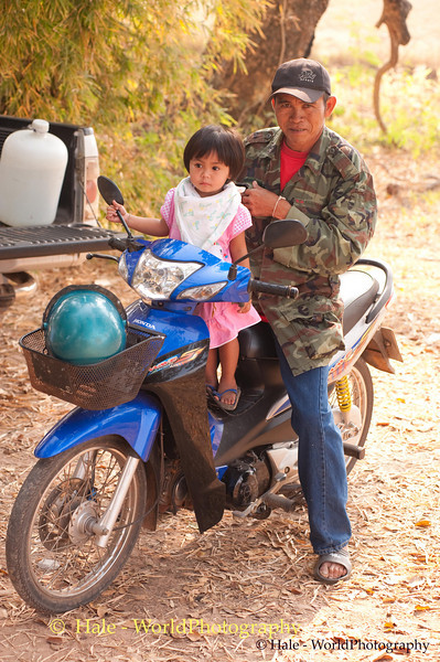 A Day Out With Grandfather, Isaan, Thailand