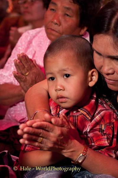 Peelawat Being Taught To Worship