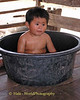 Tubby Time in Tahsang Village for Kwan, Thailand