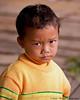 Skeptical Young Boy, Xieng Kok Market, LPDR