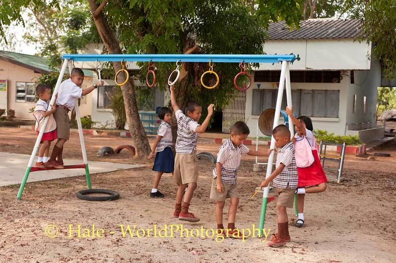 Playtime Before Start of School Day