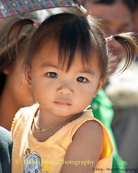 Little Girl At the Festival