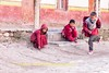 Young Monks at Play