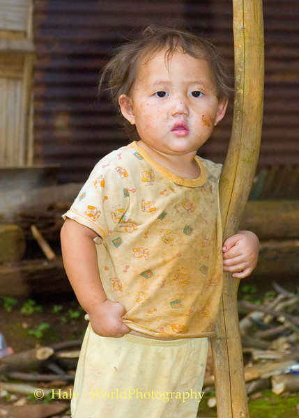 Hmong Infant - Chiang Mai, Thailand