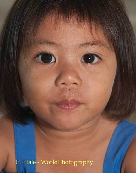 A Wide Eyed Lao Loum Girl of Isaan