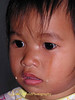 Lao Loum Child Crying- Tahsang Village, Isaan Region Thailand