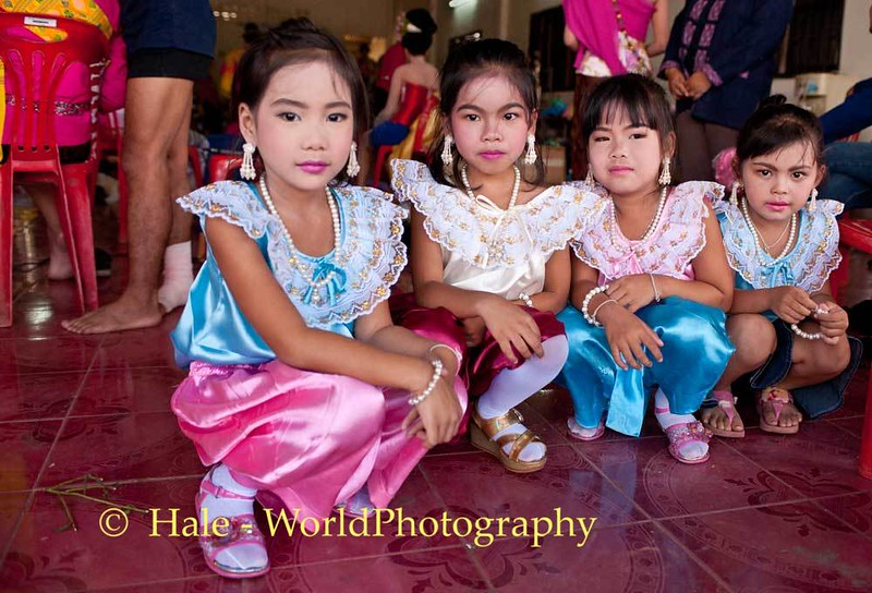 Little Charmers All Dressed Up for the Parade