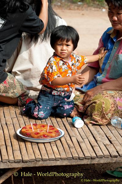 Kwan and Her Birthday Cake