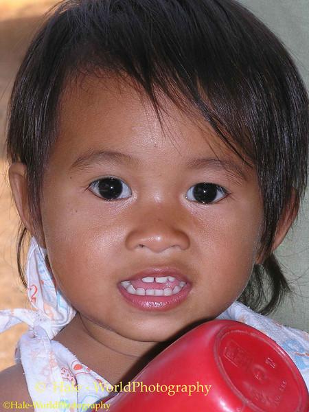 Lao Loum Child - Tahsang Village, Isaan Region Thailand