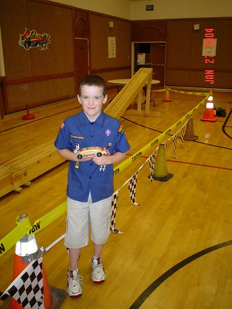 Sam Pinewood Derby 2004