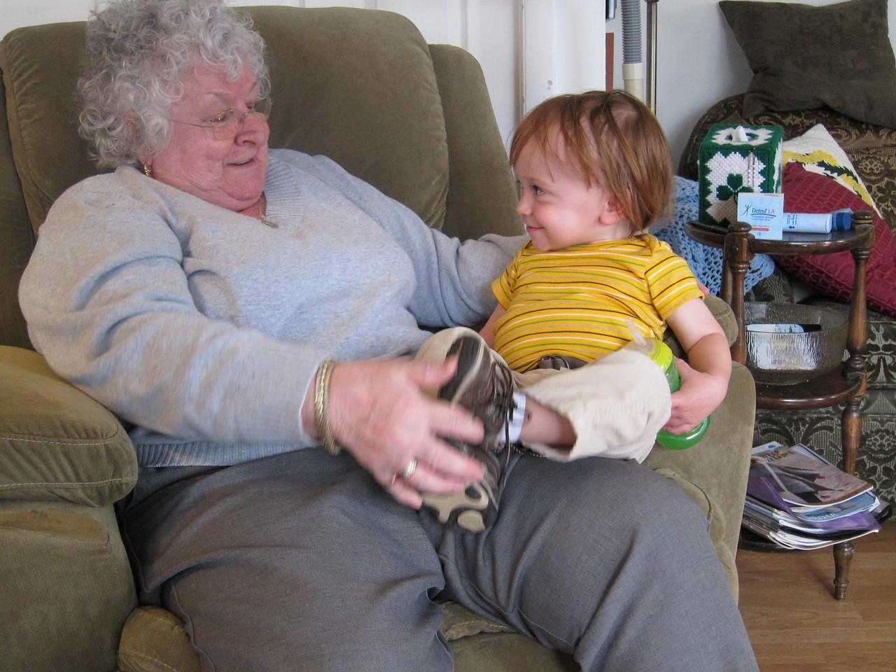 Granny and Séamus
