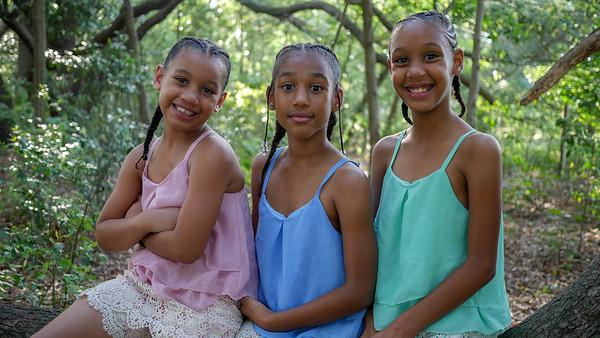 Sisters - Marsha, Aaliyah & La'Niyah