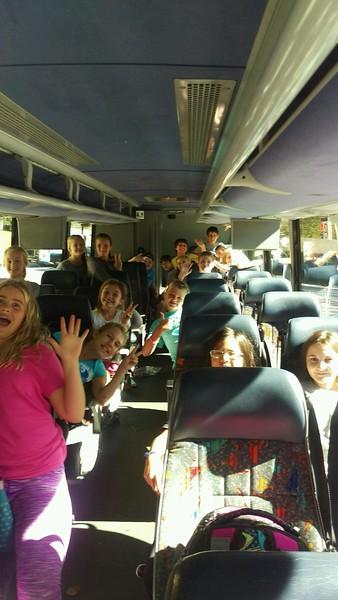 Sixth Grade Earthshine Mountain Trip 2016