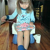 Opening presents from Auntie Nancy. :)