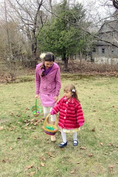 Elisa helps Skye look for more.